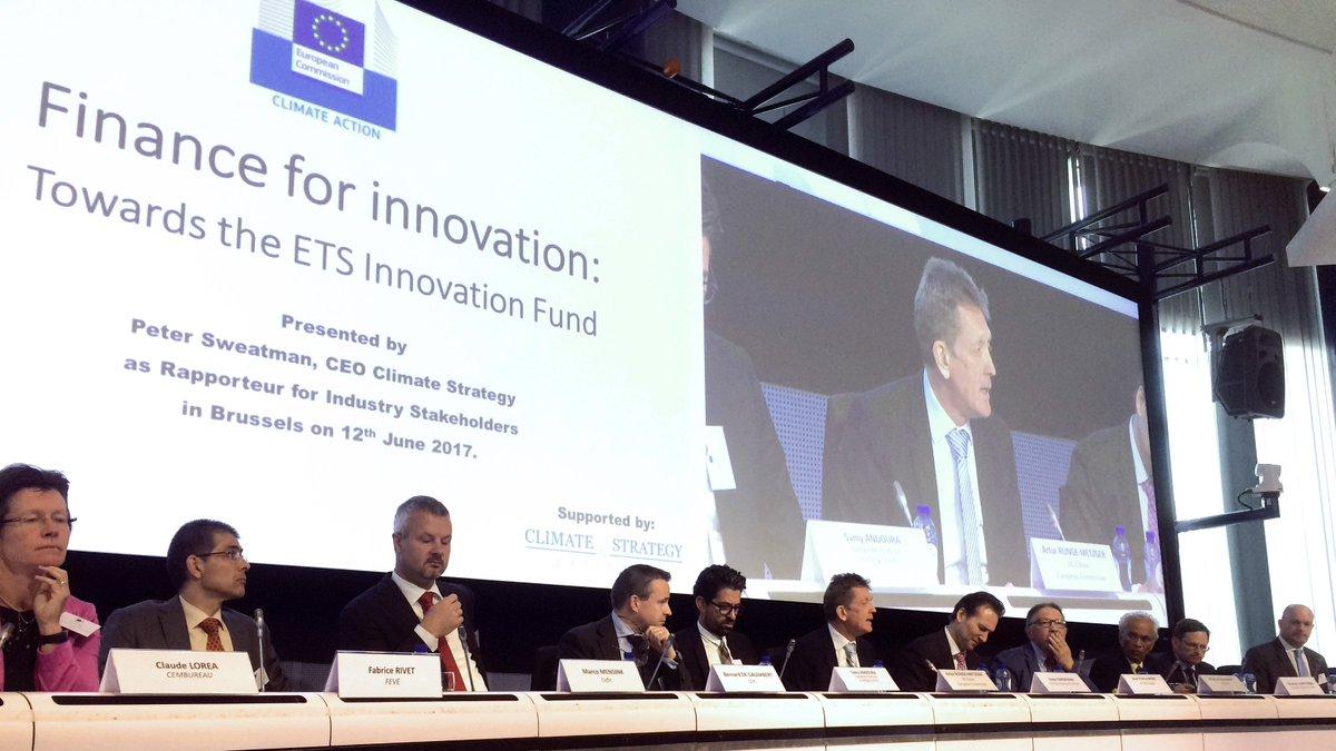 Finantarea Inovatiei: catre Fondul ETS